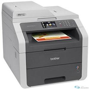 Brother MFC-9130CW LED Multifunction Printer - Color - Plain Paper Print - Desktop - Copier Fax Printer Scanner - 19 ppm Mono 19 ppm Color Print - 600 x 2400 dpi Print - 19 cpm Mono 19 cpm Color Copy - Touchscreen LCD - 1200 dpi Optical Scan - 251 sheets Input - Wireless LAN - USB